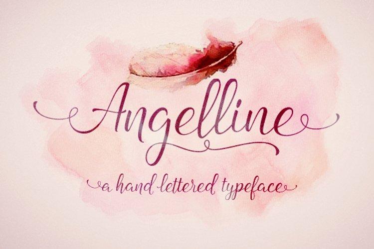 Angelline Script example image 1