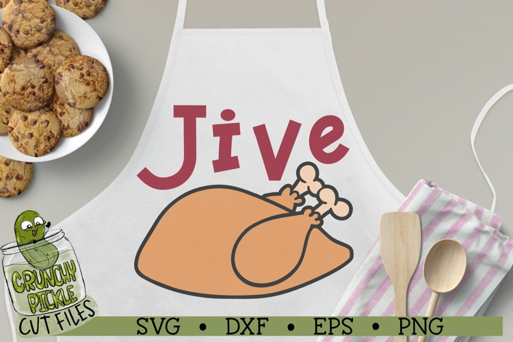 Jive Turkey Funny Thanksgiving or Holiday SVG Cut File