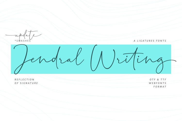 Jendral Writing Signatures example image 1