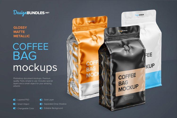 Coffee Bag Mockups example image 1