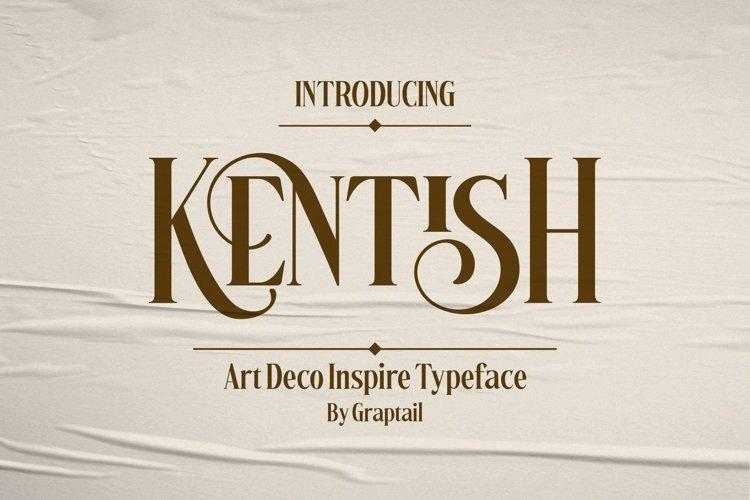 Kentish Typeface