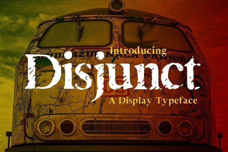 Web Font Disjunct example image 1