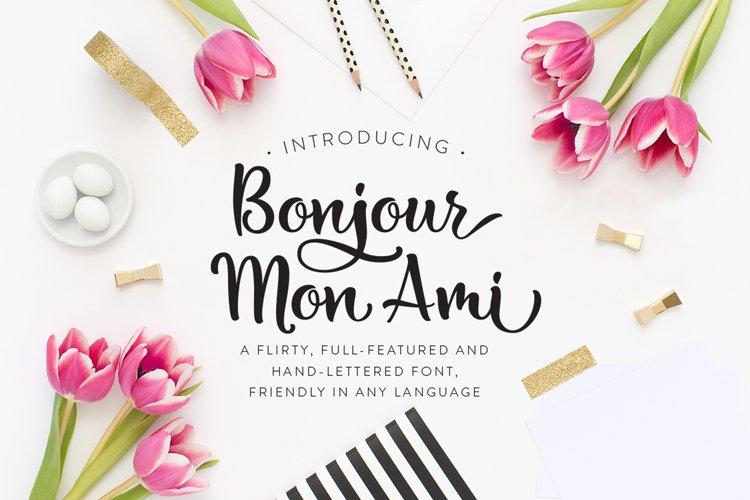 Bonjour Mon Ami example image 1
