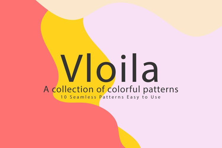 Vloila Seamless Patterns example image 1