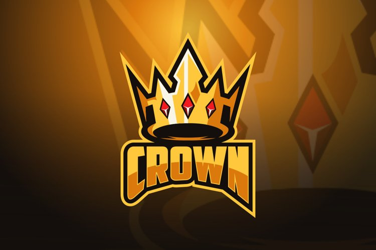 Crown Esports Logo Template