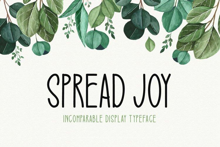 Spread Joy example image 1