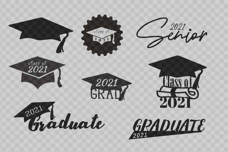 Graduation graphic files | svg | png | dxf example image 1