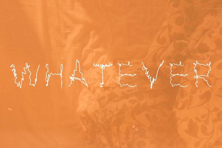 Whatever font in ttf, otf example image 1