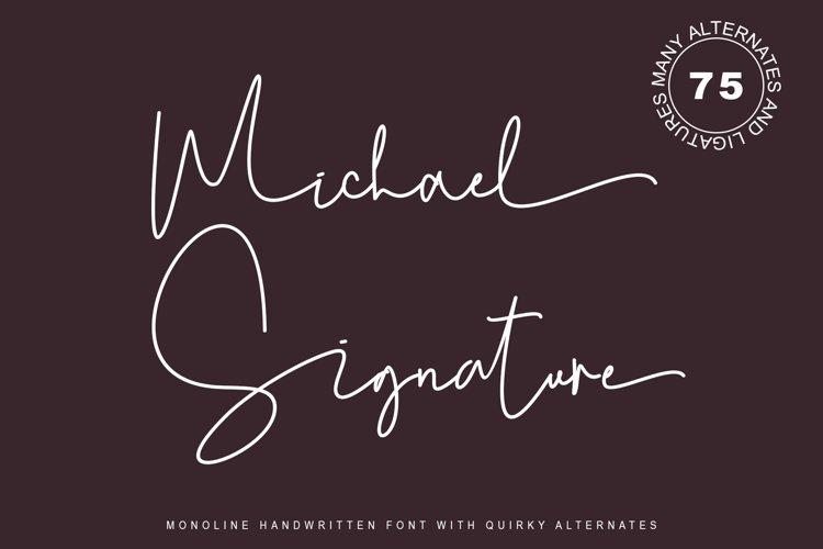 Michael Signature example image 1