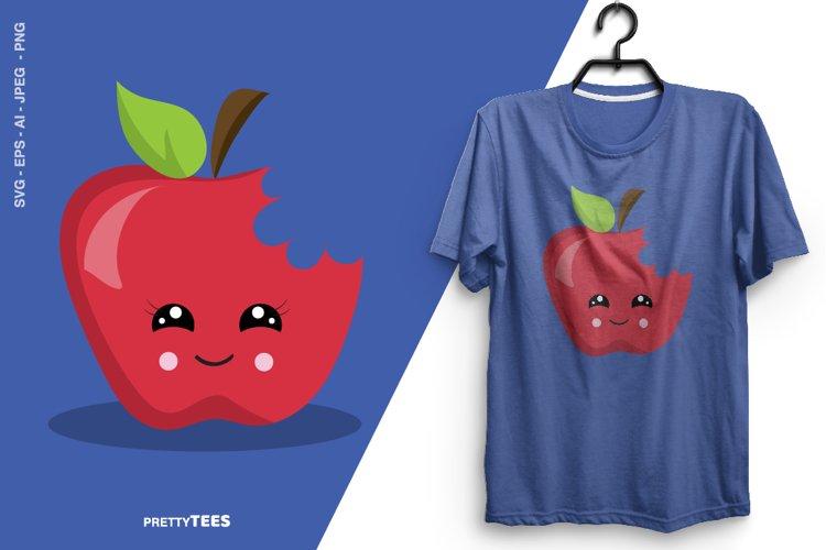 Apple Cool T-Shirt Design | Sublimation T-Shirt example image 1