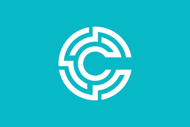 geometric C initial logo example image 1