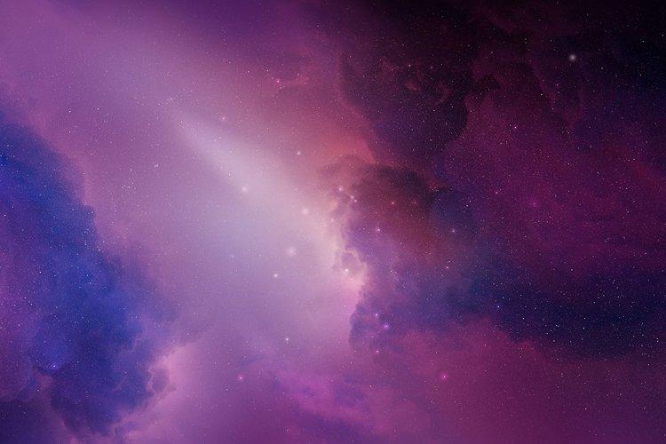5 Realistic Nebula Backgrounds example 2