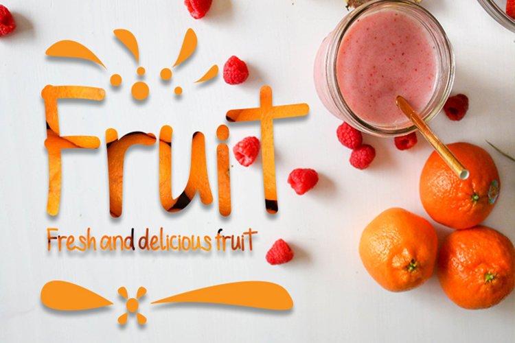 Fruit example image 1