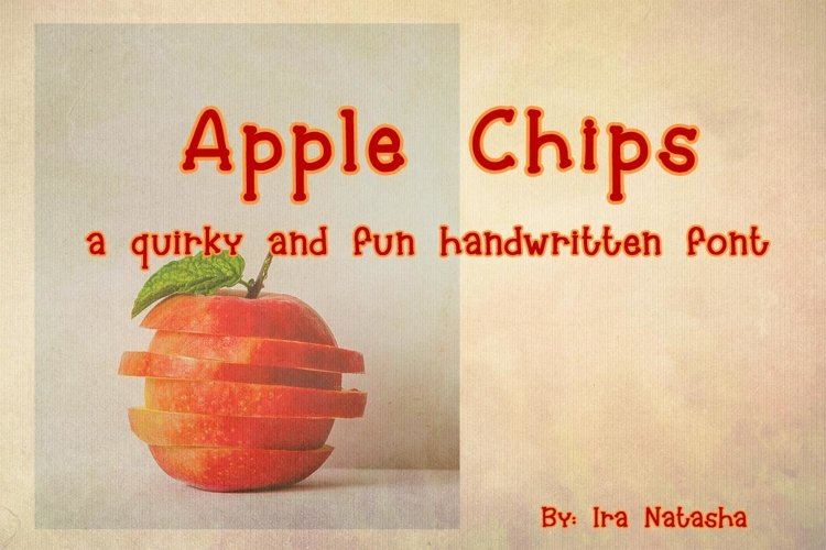 Apple Chips example image 1