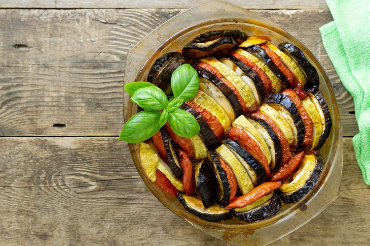 Traditional french dish ratatouille example image 1