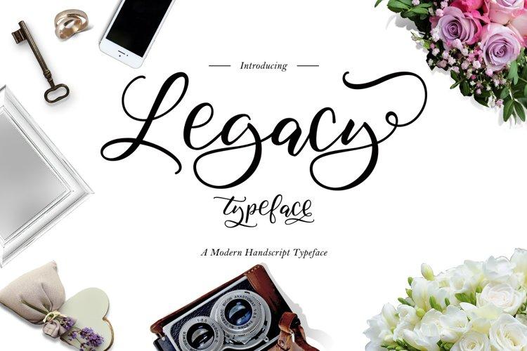 Legacy Typeface example image 1