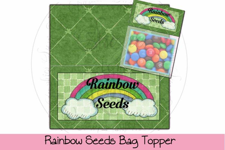 Rainbow Seeds Bag Topper