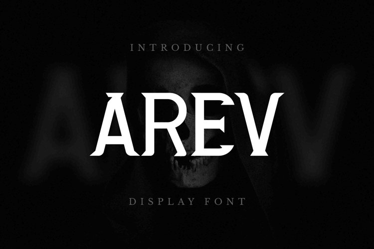 AREV Font example image 1