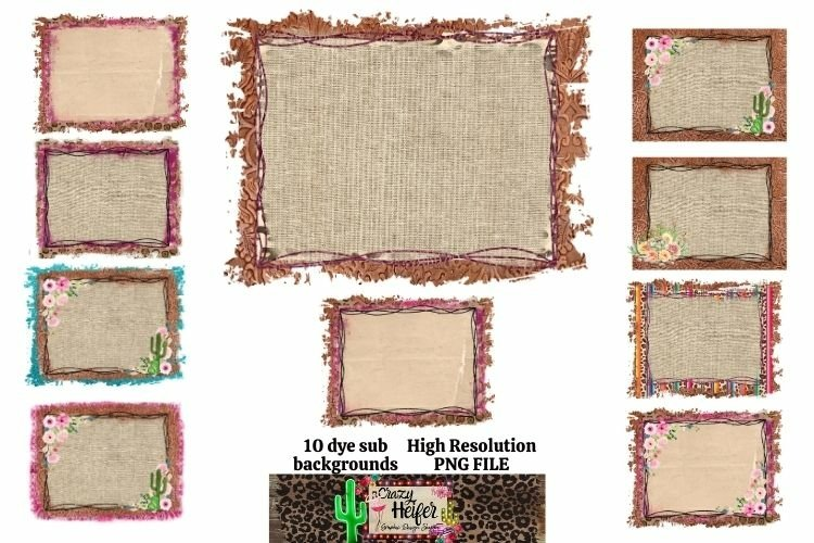 Junky Backgrounds for Dye Sublimation