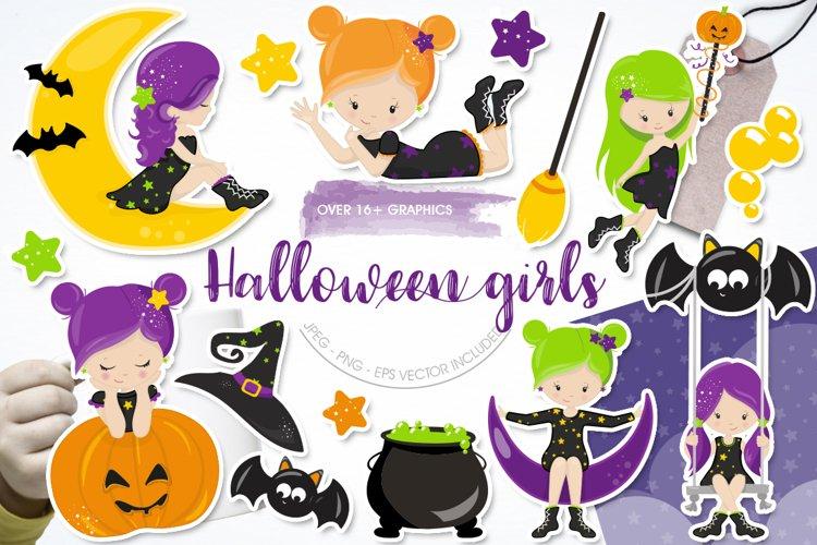 Halloween Girls example image 1