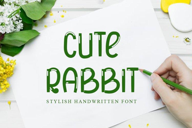 Cute Rabbit example image 1