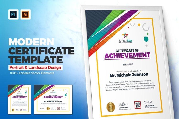 Creative Certificate Template