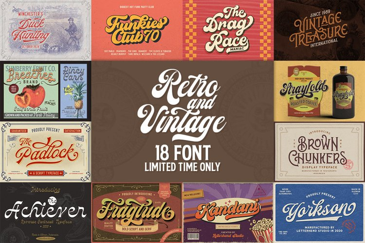 Retro and Vintage Bundle example image 1