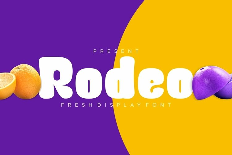 Web Font Rodeo Font example image 1