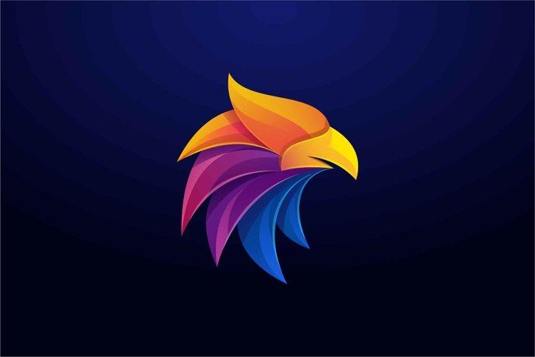 Eagle logo design templates example image 1