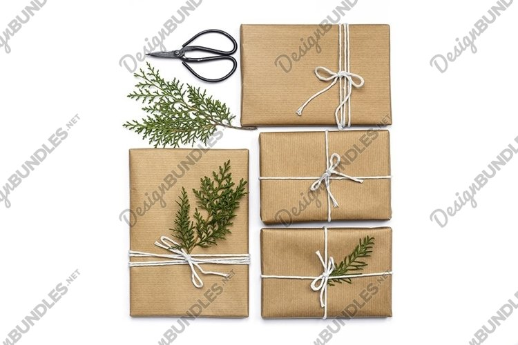 Christmas Gifts Styled Stock Photo example image 1