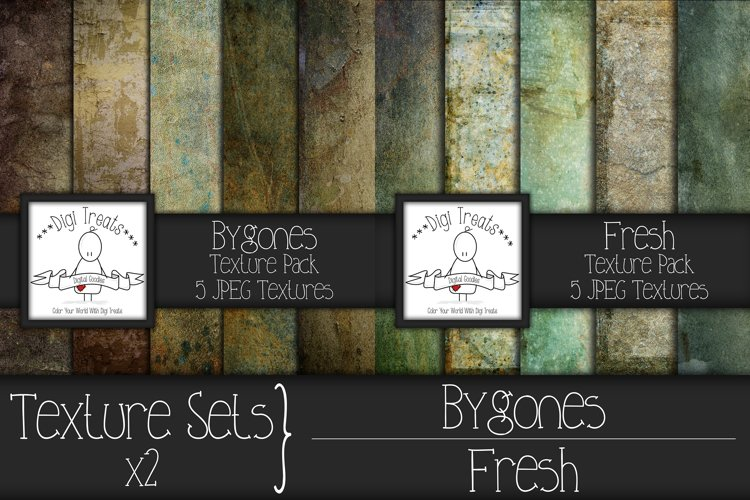 Texture Sets x 2. Bygones and Fresh. example image 1