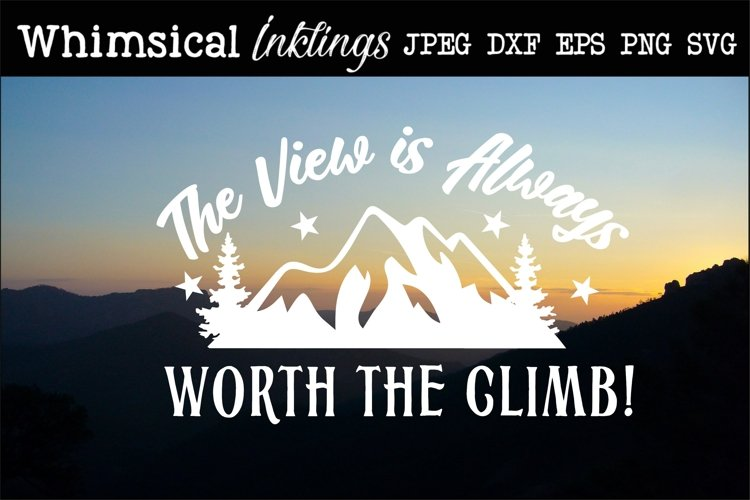 The View-Hiking SVG example image 1