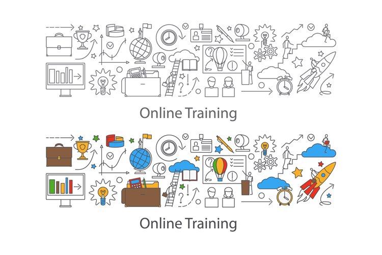 Webinar and web communication background example image 1