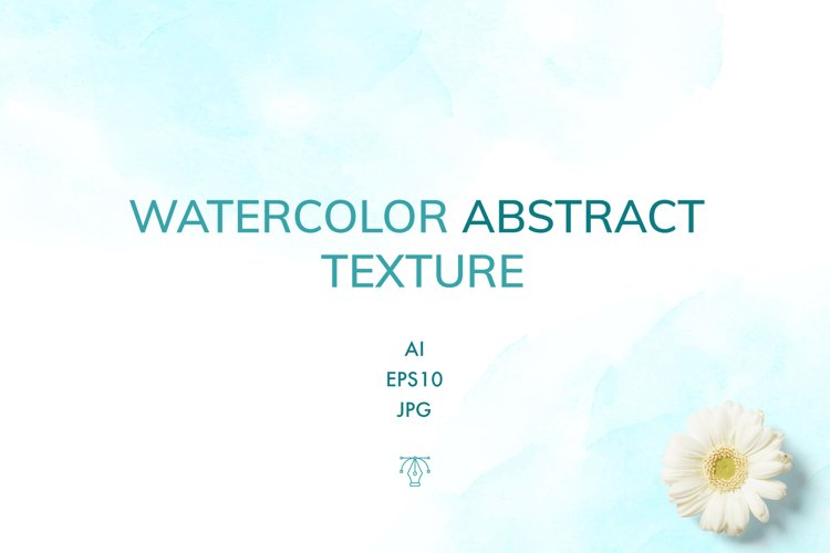 Vector Watercolor texture example image 1