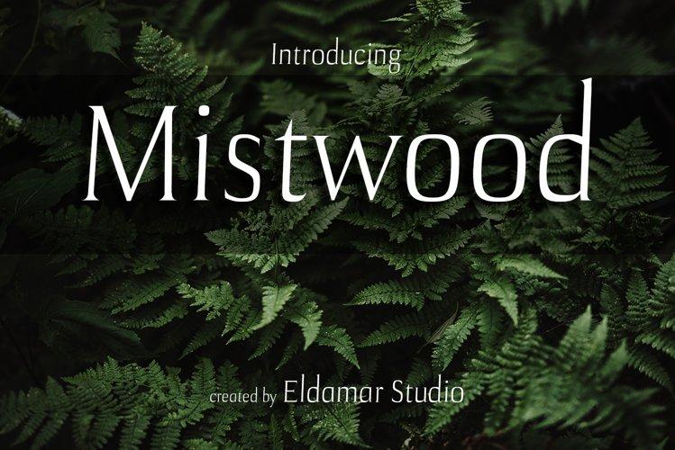 Mistwood Font example image 1
