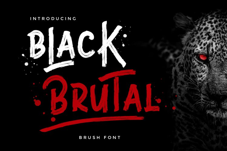 Black Brutal example image 1
