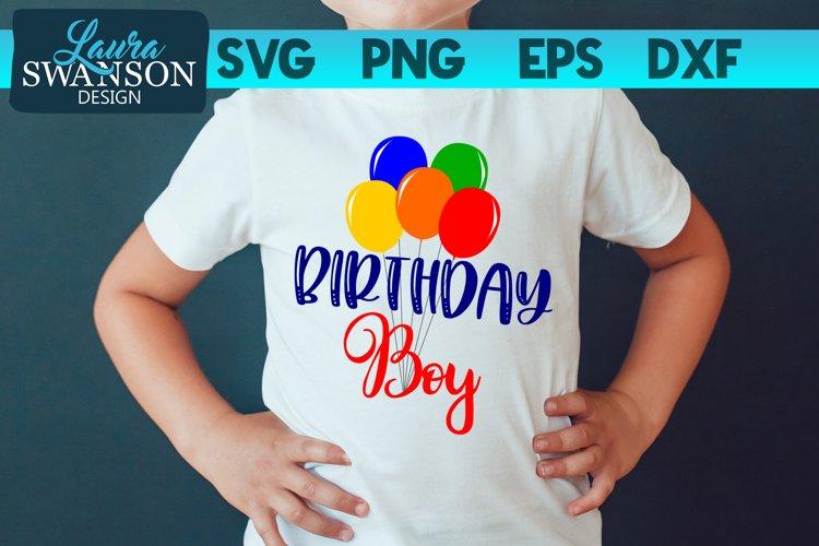 Birthday Boy SVG, PNG, EPS, DXF
