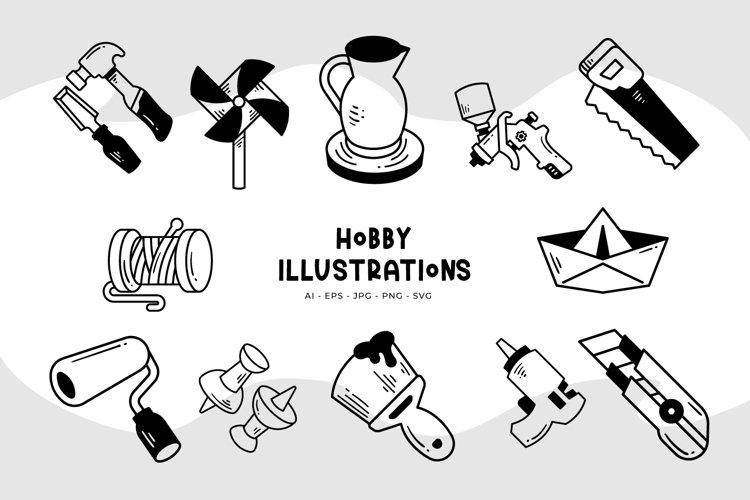 Hobby Illustrations