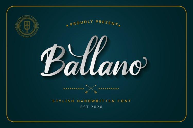 Ballano example image 1