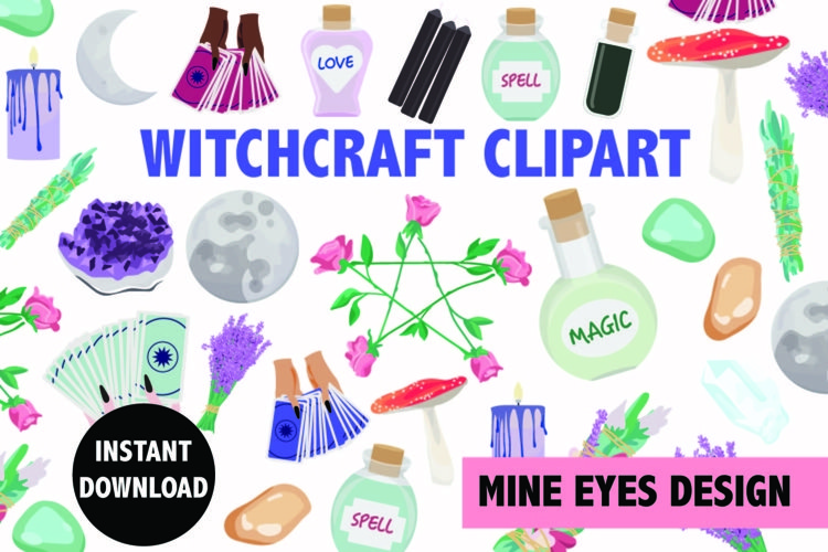 Witchcraft Clipart