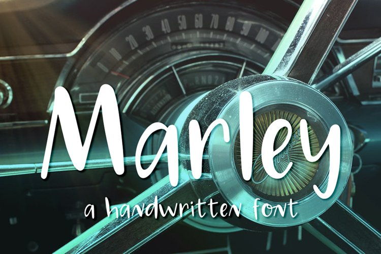 Marley Font example image 1