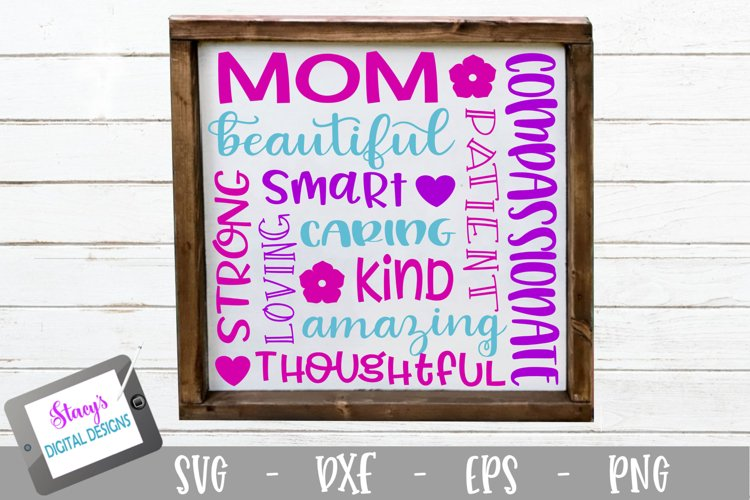 Mom Subway Art SVG - Mothers Day SVG
