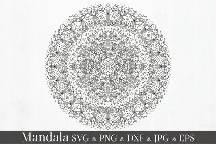 Mandala Art SVG Ornament example image 1