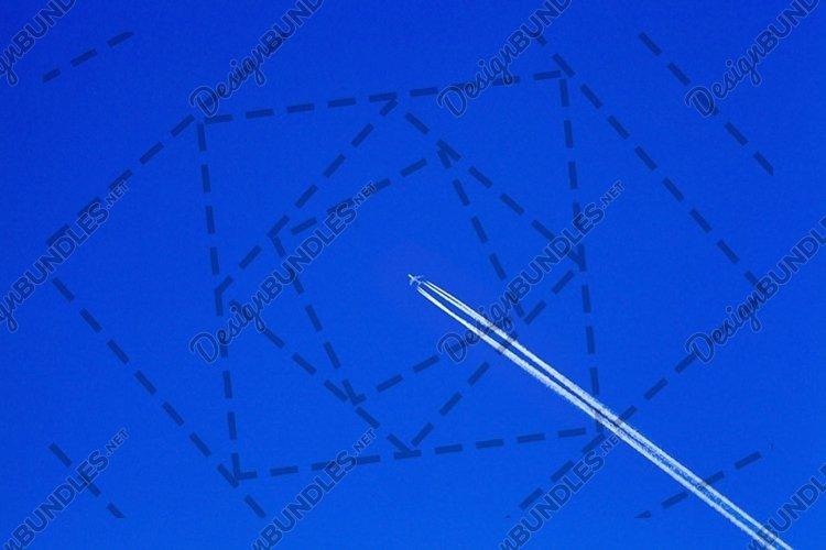 Flying plane example image 1