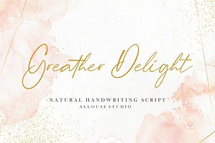 Greater Delight example image 1