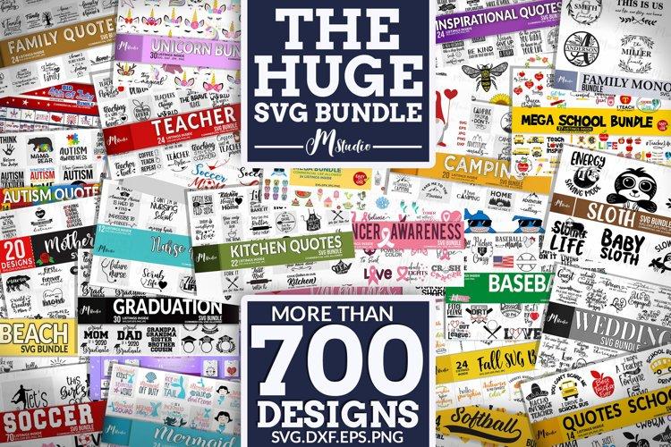 The Huge SVG Bundle example image 1