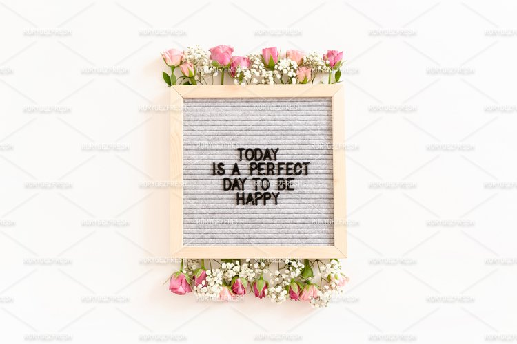 Quote Today is a perfect day to be happy example image 1
