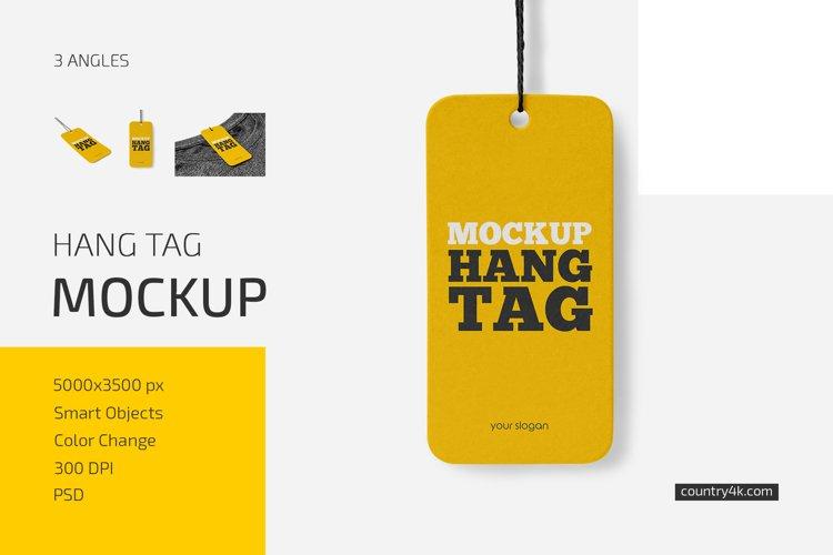 Hang Tag Mockup Set