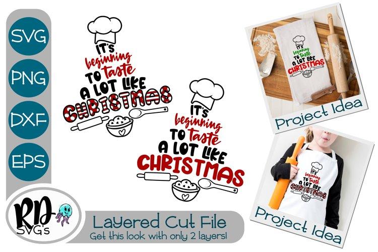 Taste Like Christmas - A Christmas Layered Cricut Cut File example image 1