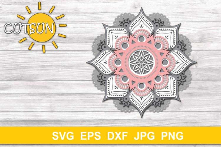 Download 3d Layered Mandala Svg Cut File 5 Layers 518462 Cut Files Design Bundles
